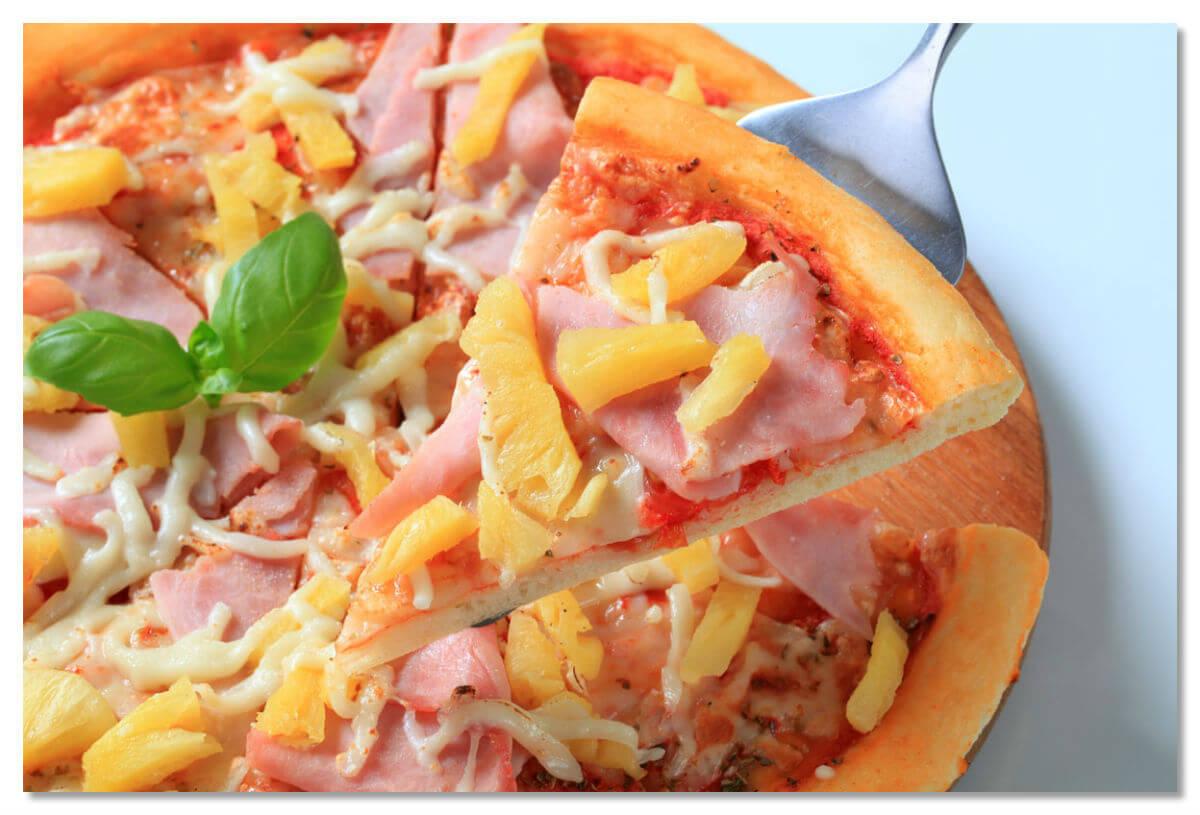 Как сделать пиццу с ананасами и курицей