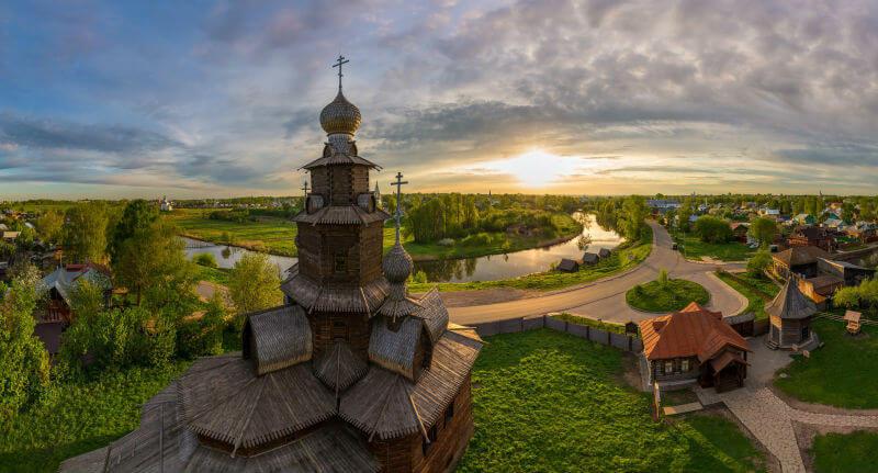 Отели Золотого кольца России заполнены