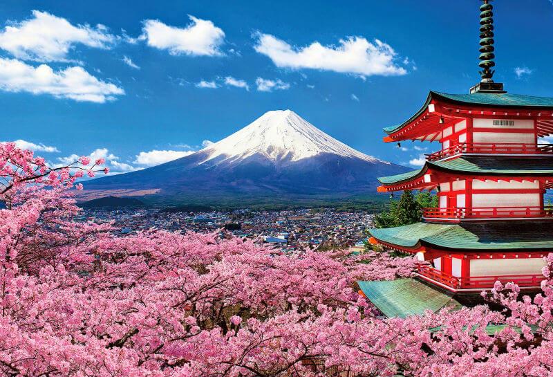 Япония горы mt fuji