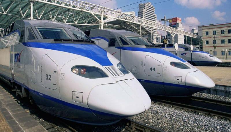 Южная Корея обзавелась еще одним высокоскоростным поездом