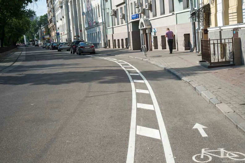 Больше велодорожек в Москве