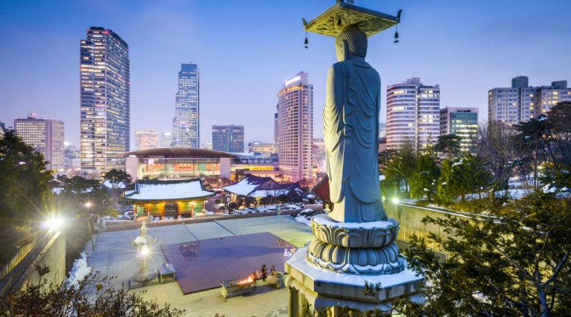 Бонус туристам от корейцев