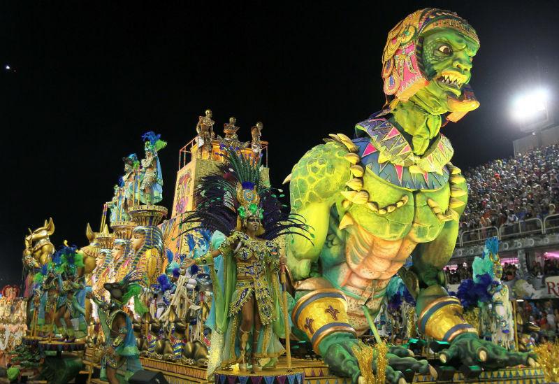 Спешите на карнавал в Рио