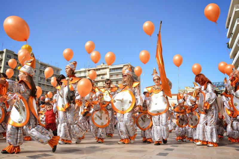 Карнавал в греческих Патрах