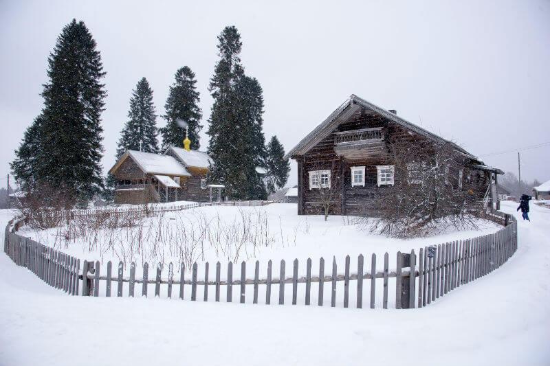 Кинерма — самая красивая деревня России