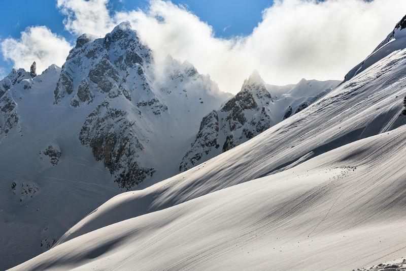 Снег в Альпах не выпадал уже 50 дней