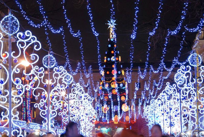 Новогодняя ярмарка в Санкт-Петербурге