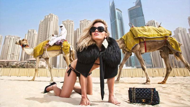 Приключение фотомоделей в Дубае