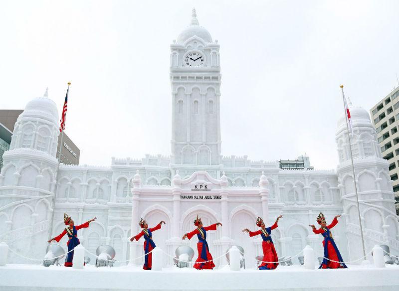 Снежный фестиваль в Саппоро откроется для туристов