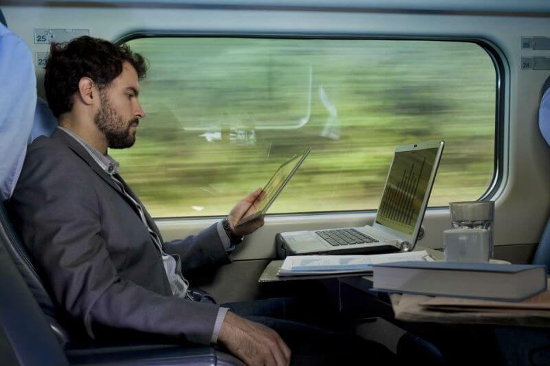 Беспроводная сеть в поездах Германии