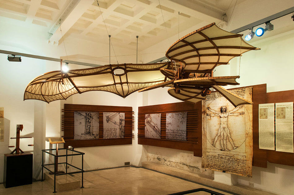Музей Да Винчи открылся в Риме