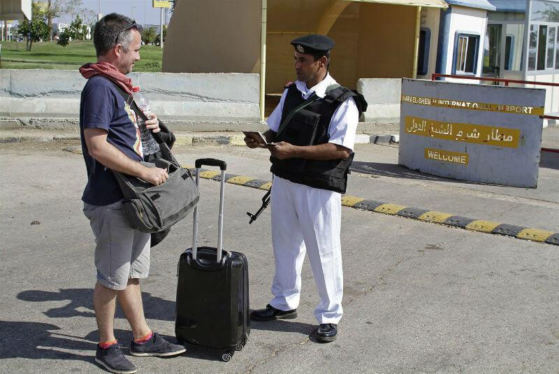 Журналисты инспектируют Египет