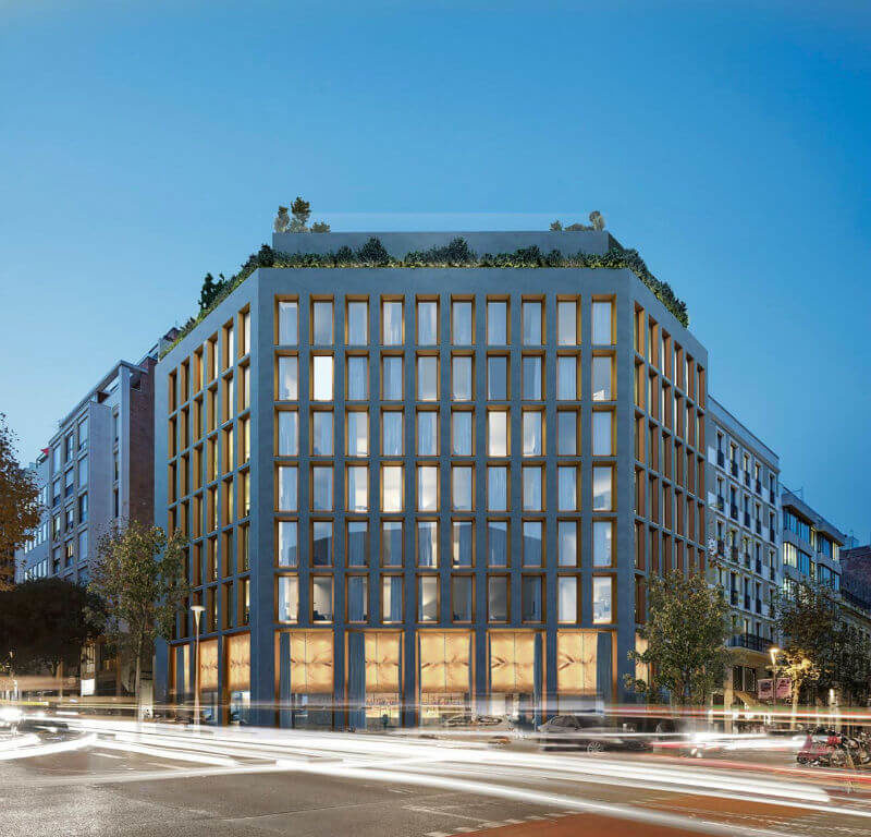 Новый отель в Барселоне
