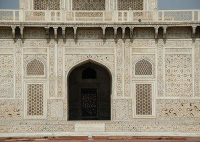 Детальный вид мавзолея Итимад-уд-Даула