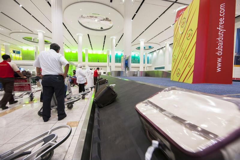 Дубай принимает багаж только с плоскими поверхностями