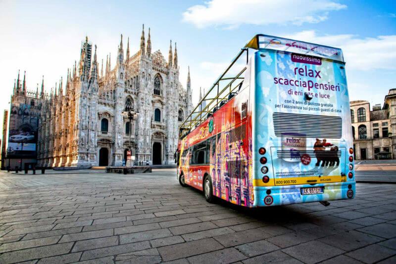 Итальянские транспортники отмечают 8 марта