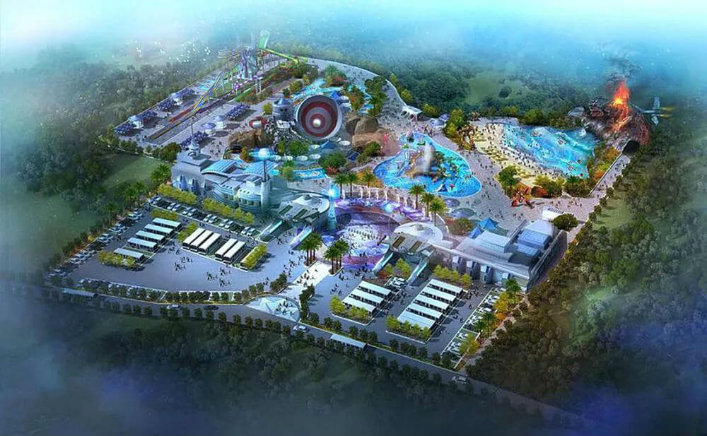 Новый аквапарк в Таиланде