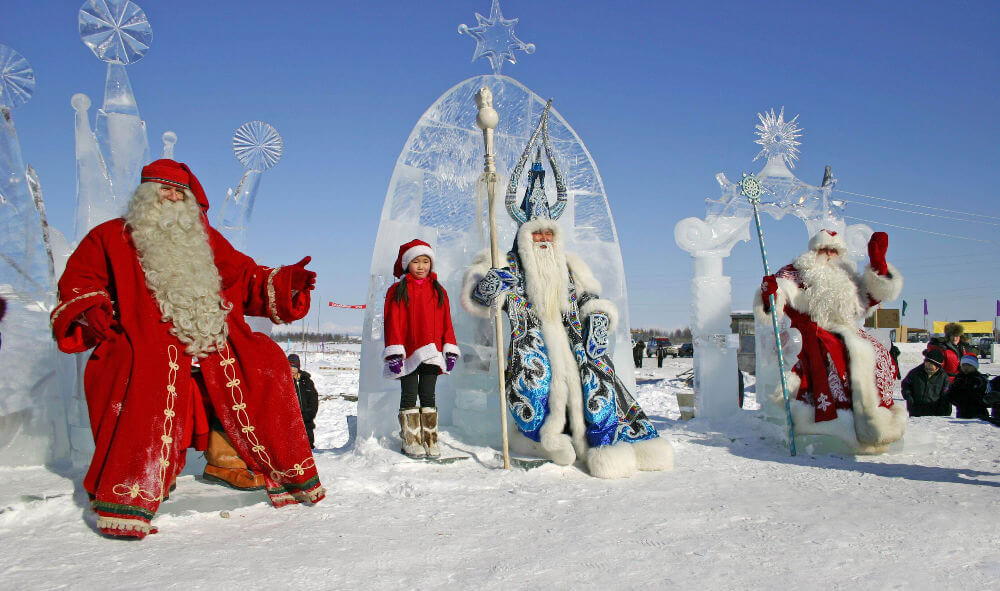 Праздник холода в Якутии