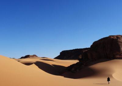 Тибести в пустыне Сахара