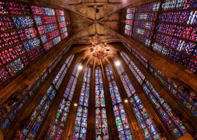 Окна в Ахенском соборе
