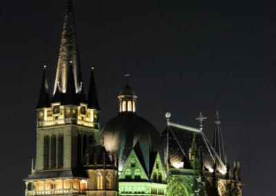 Подсветка Ахенского собора