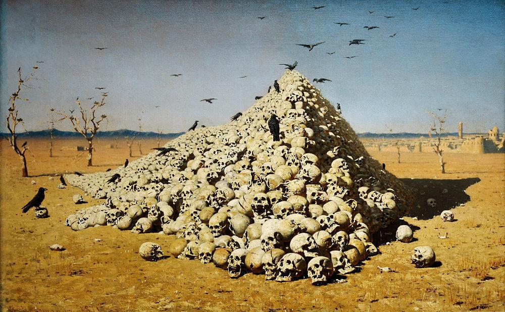 Выставка картин Василия Верещагина