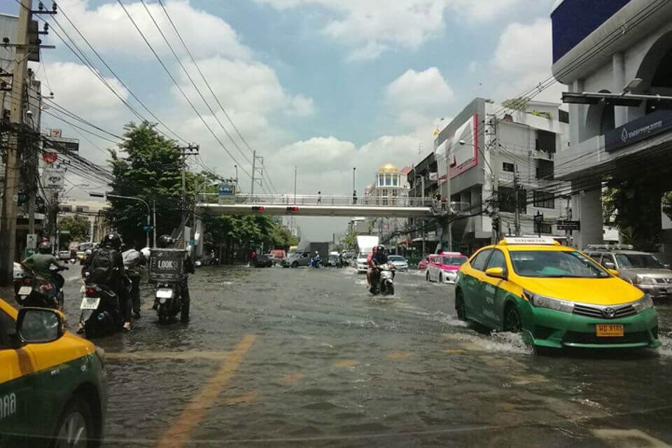 Бангкок во власти стихии