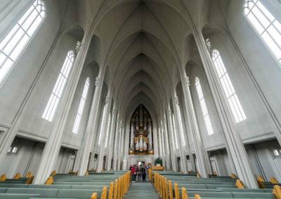 Внутри церкви Хатльгримскиркья, фото 2
