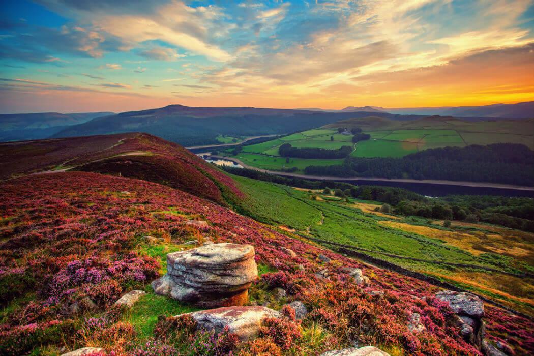 Долина в Англии