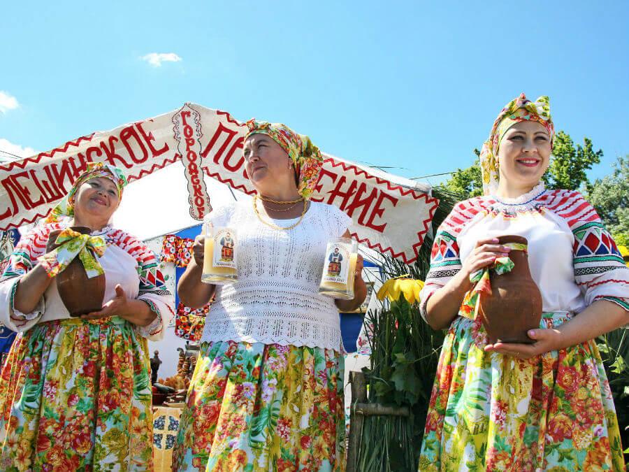 Фестиваль кваса в Панино