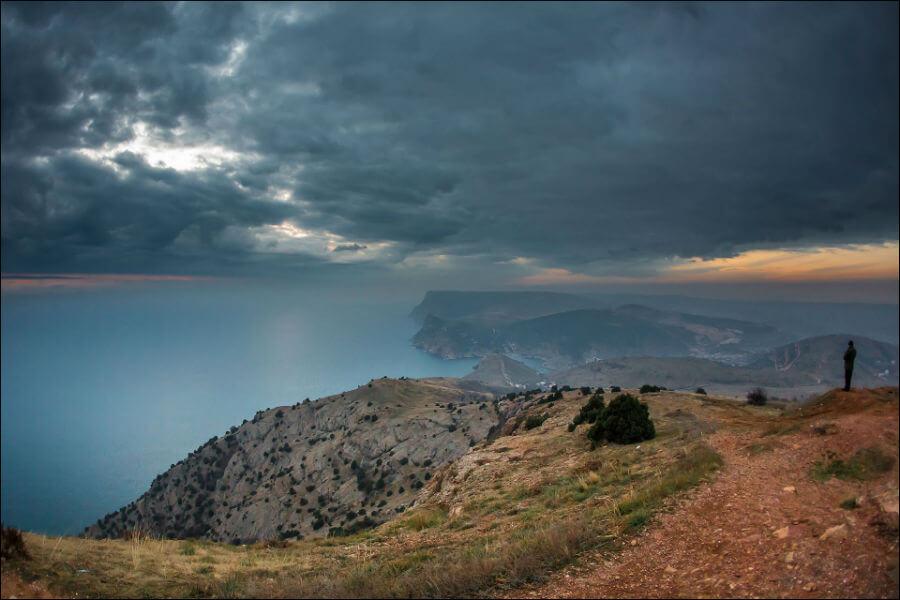 Крым в плену у непогоды