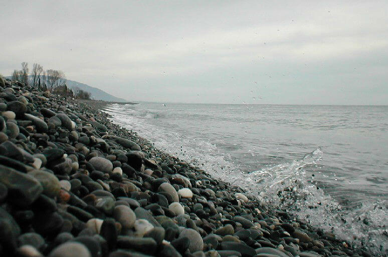 На Черном море холодно