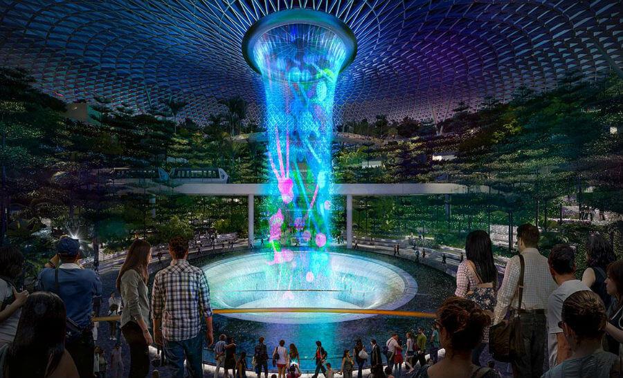 Парк развлечений открылся в сингапурском аэропорту