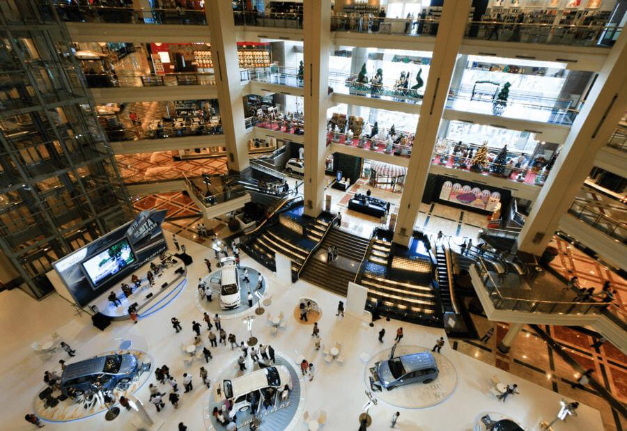 Распродажа в Джакарте