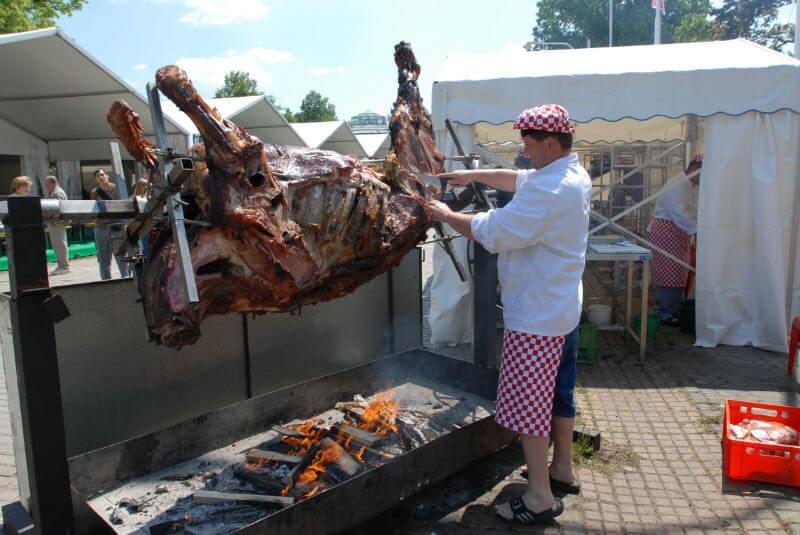 Фестиваль еды в Чехии