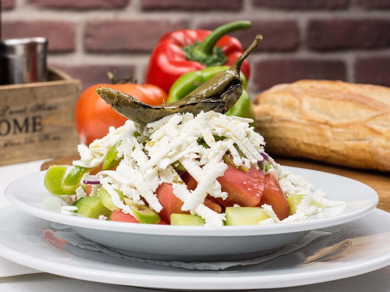 Болгарский традиционный салат