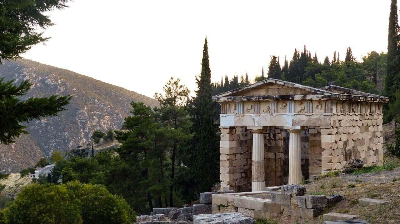 Делфи в Афинах