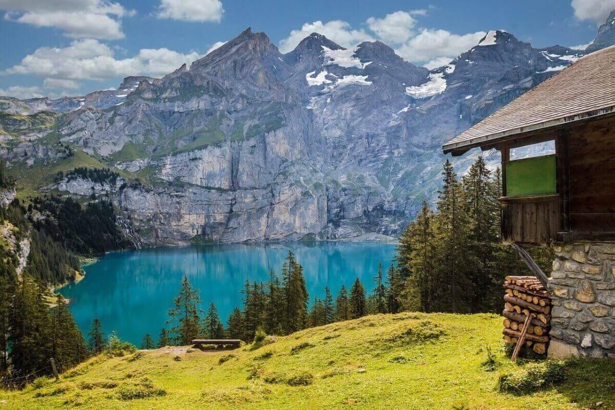 Кристальные озера Швейцарии