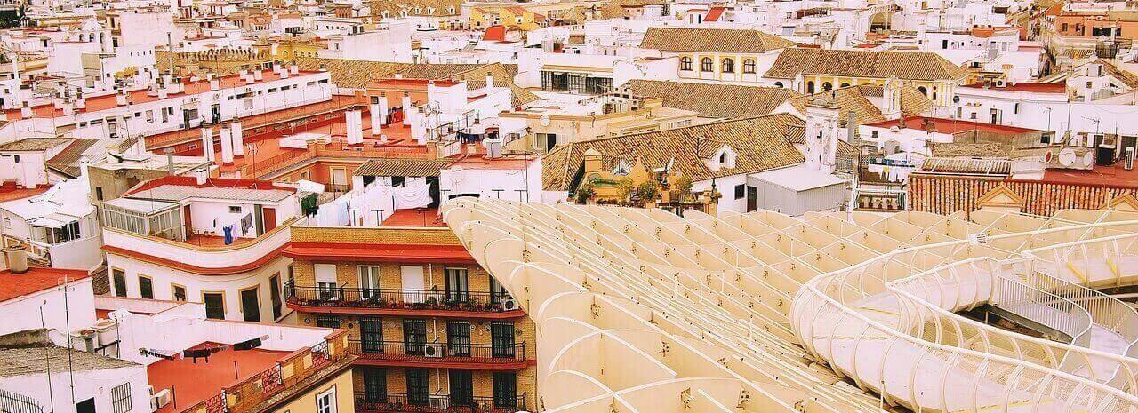 Вид на Севилью