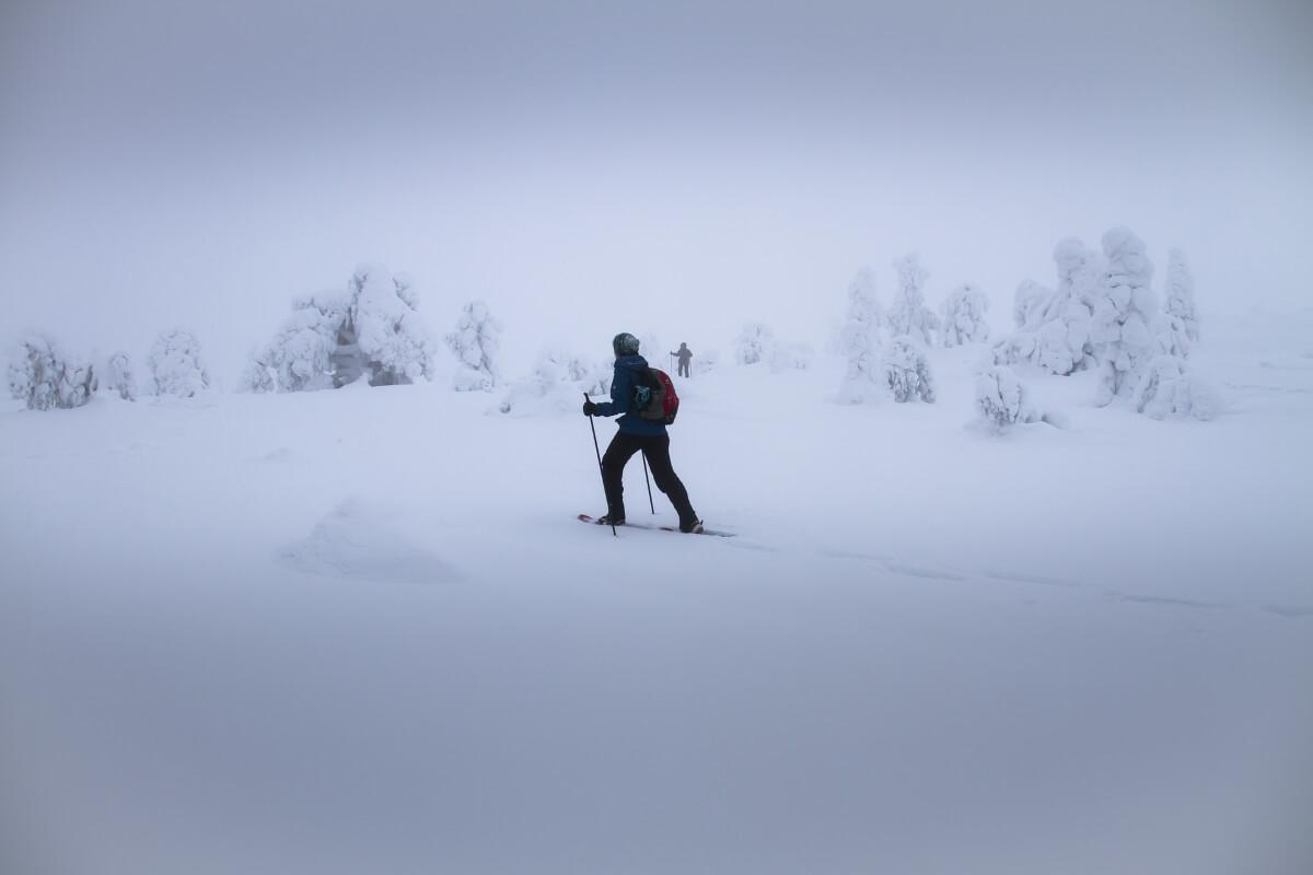Зимний поход в Финляндии