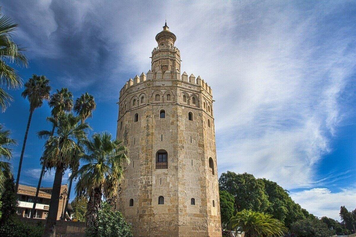 Золотая башня в Испании