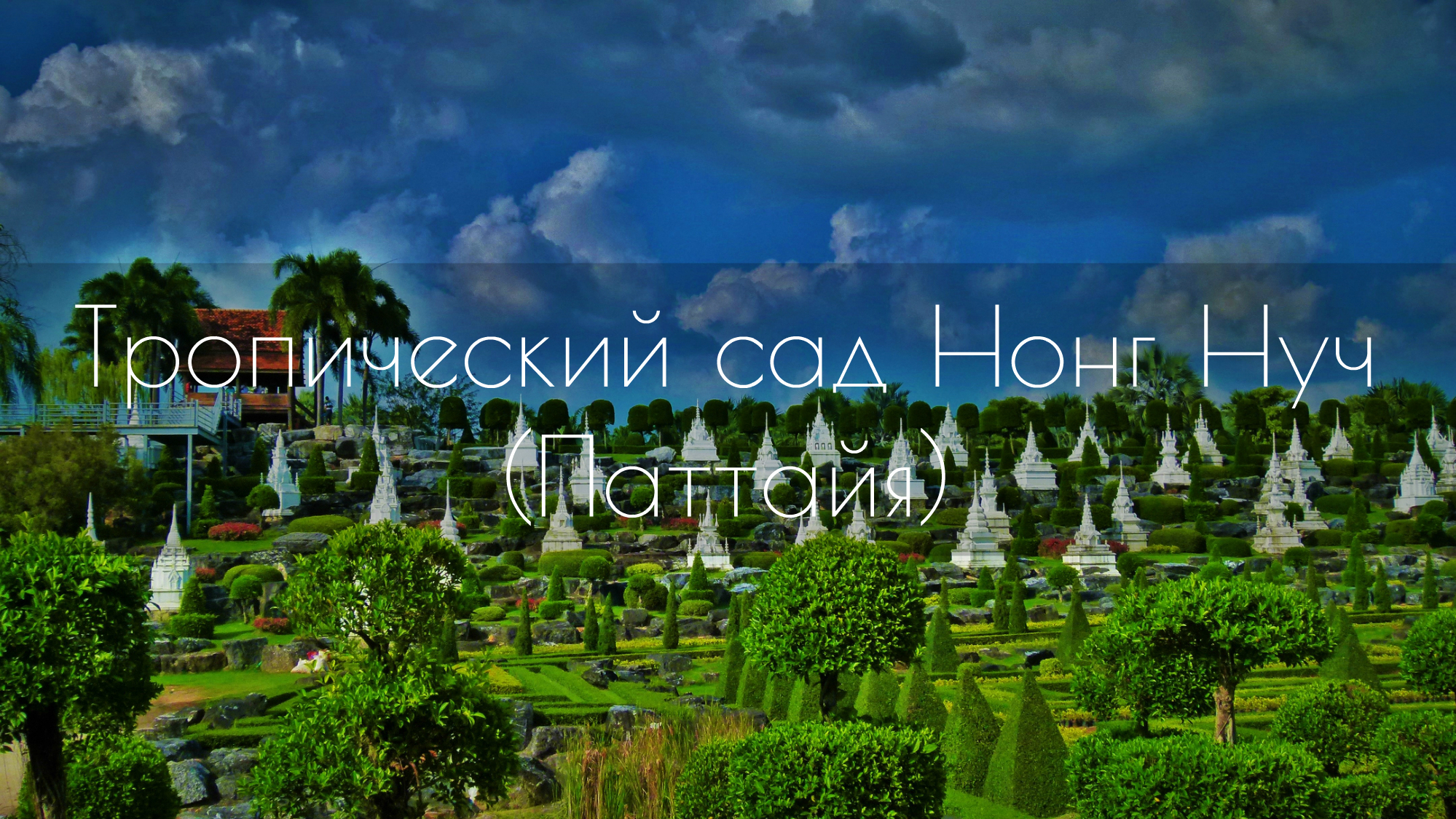 Тропический сад Нонг Нуч (Паттайя)