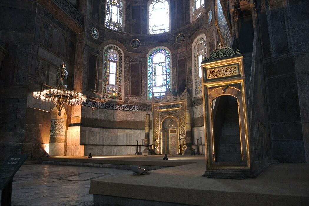 Софийский собор в Стамбуле, фото внутри