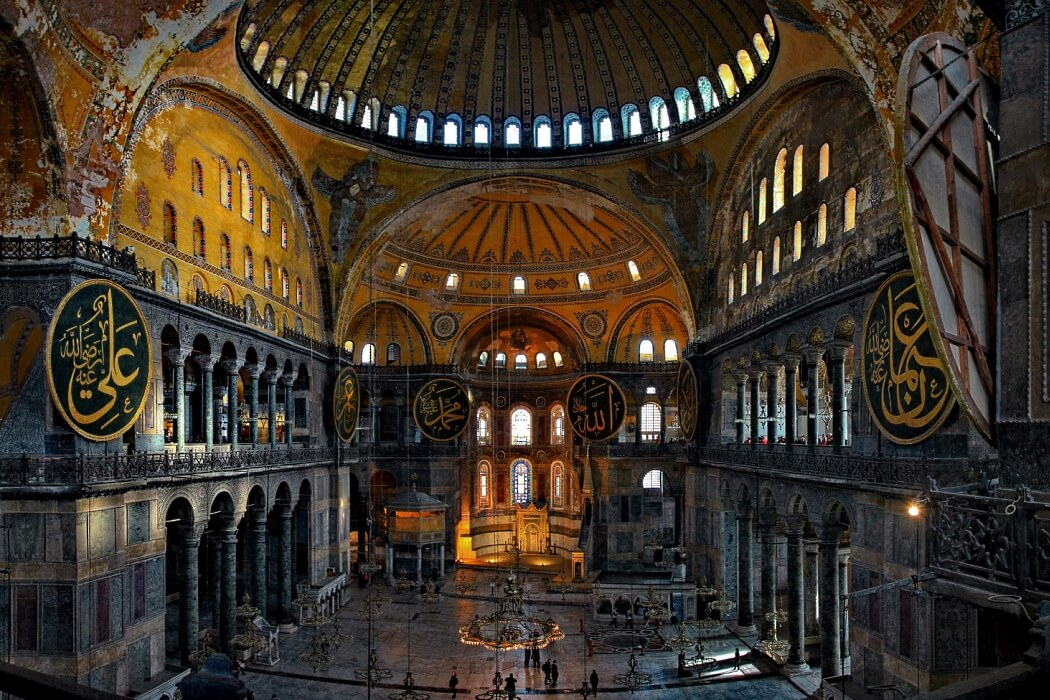 Стамбул. Собор святой Софии.