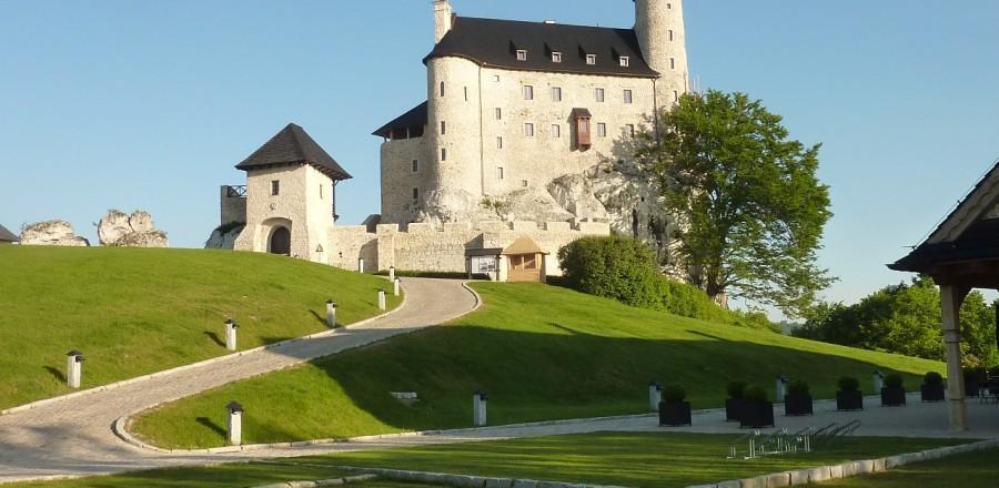 Замок в Боболице — один из объектов Орлиных Гнезд.