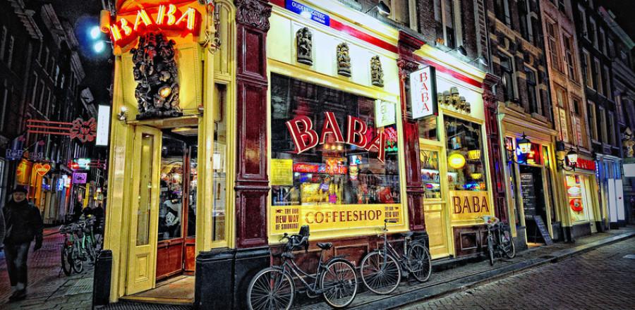 Кофешоп Baba, Амстердам, Нидерланды