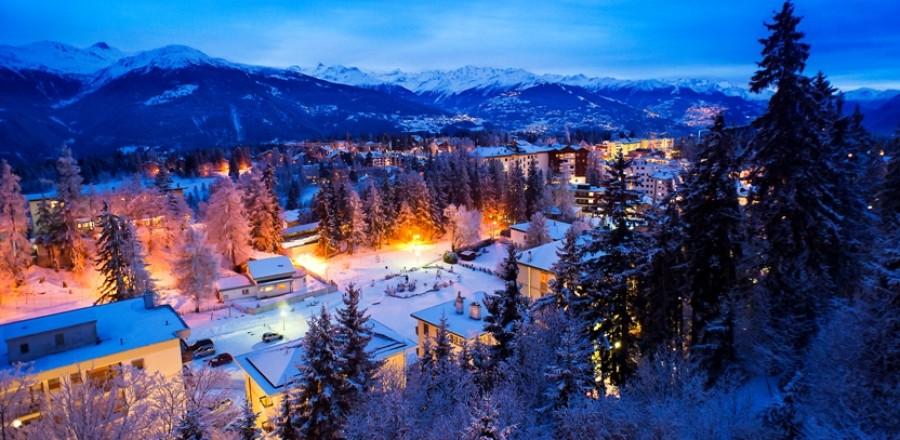 Кран-Монтана — популярное направление отдыха среди туристов.
