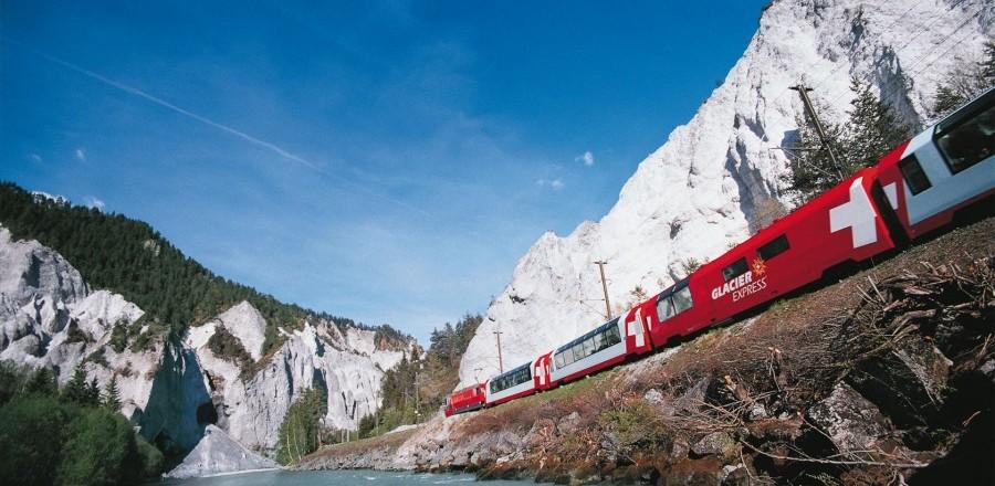 Ледниковый экспресс (Glacier Express) Ст.Мориц — Церматт.