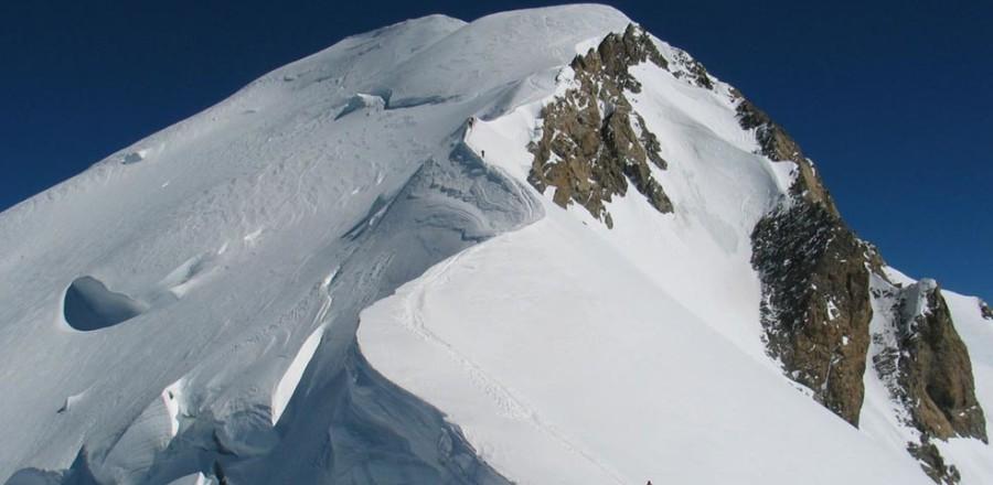 Монблан является самой высокой горой в Альпах