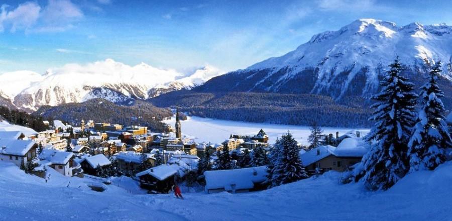 Подлинный бриллиант среди швейцарских курортов, Санкт-Мориц (St. Moritz)